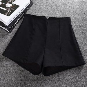 Formal Black Shorts